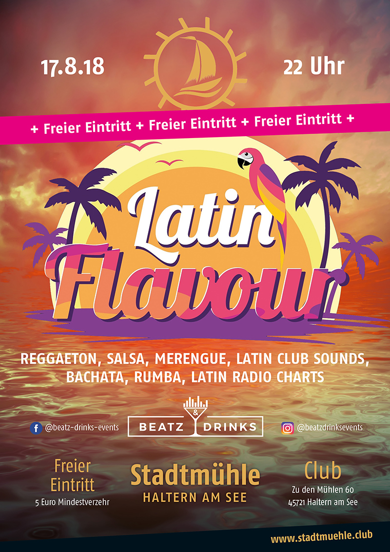 smh plakate august 2018 latin flavour