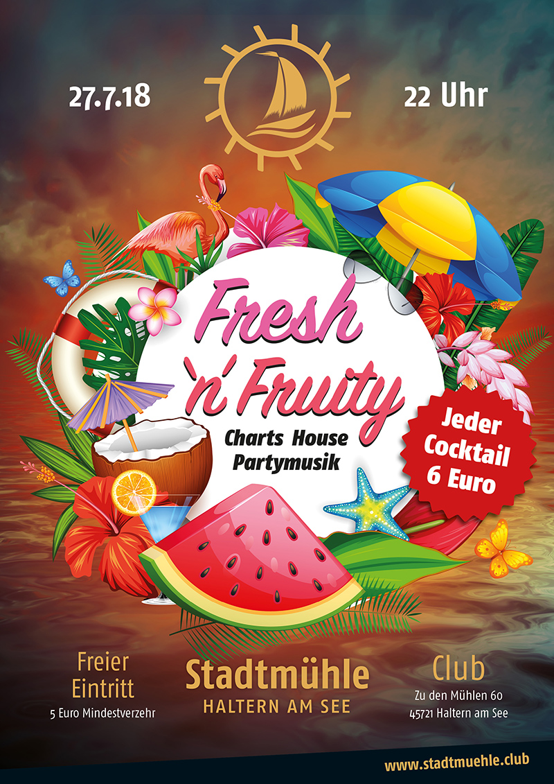 smh plakate juli 2018 fresh fruity